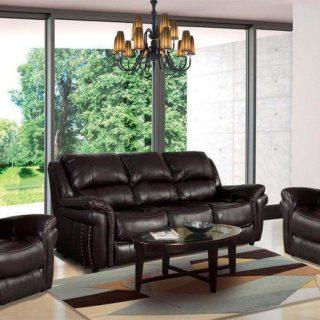 Мягкая мебель «Каспер» (Casper) экокожа темно-коричневый