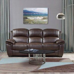 """Мягкая мебель """"Миллер"""" (Miller) экокожа темно-коричневый"""