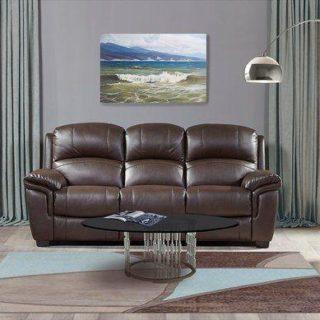 Мягкая мебель «Миллер» (Miller) экокожа темно-коричневый