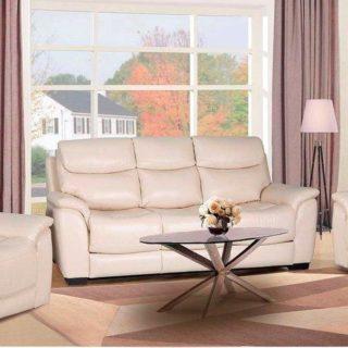 Мягкая мебель «Митчел» (Mitchel) кожа светло-бежевый