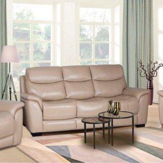 Мягкая мебель «Митчел» (Mitchel) кожа темно-бежевый