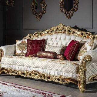 Классический диван с креслами Микеланджело, Турция