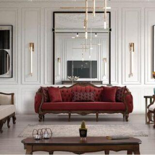 Набор мягкой мебели Лиза в стиле «честер»