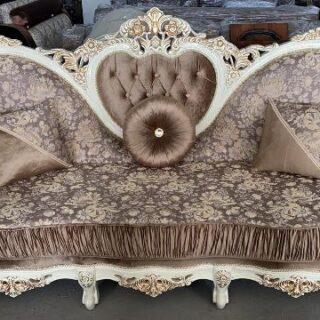 Классический резной диван Наполеон, БЕЛ